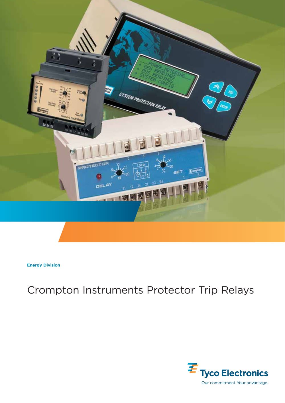 Protector Trip Relays Crompton Instruments PDF Catalogue - Basic of relay pdf