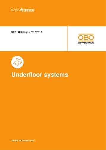 UFS - Underfloor systems