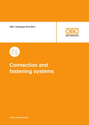 VBS. Connection and fastening systems