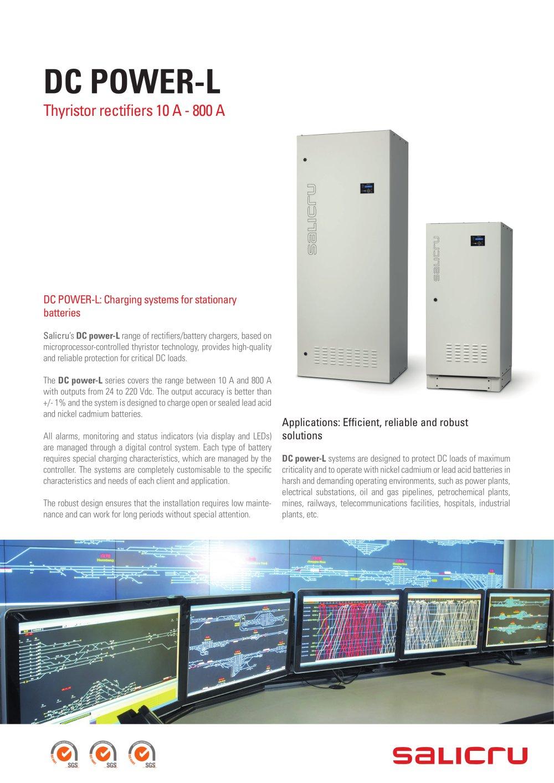 DC power L - SALICRU - PDF Catalogue | Technical Documentation ...