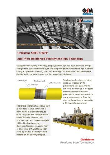 Goldstone Reinforced Polyethylene Pipe Extrusion Line SRTP