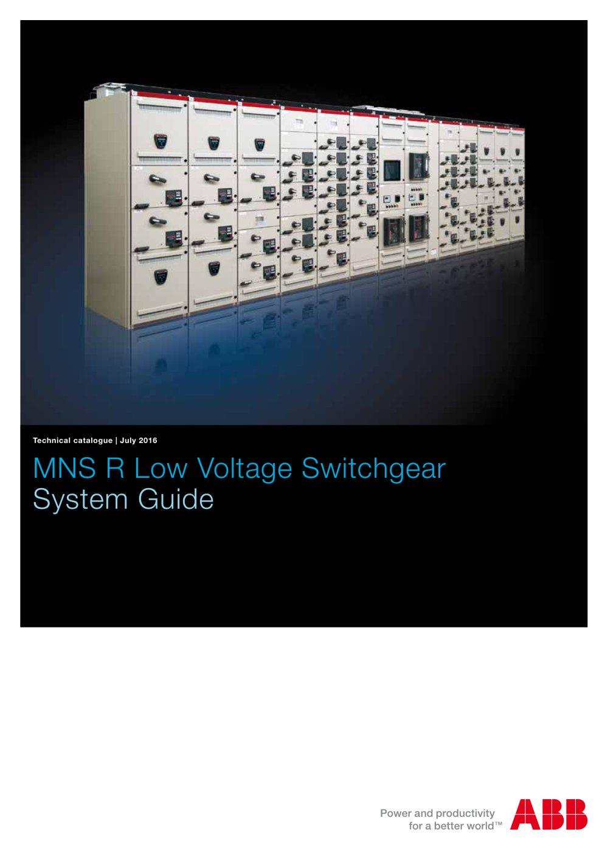mns r low voltage switchgear abb pdf catalogue technical rh pdf directindustry com ABB Switchgear Schweitzer Engineering Laboratories ABB SF6 Switchgear