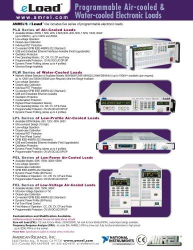 AMREL ePower & eLoad Linecard