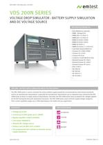 EM test VDS 200N-series 