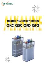 Alkaline Stationary QKC, QSC, QFD, QFG Series Catalog