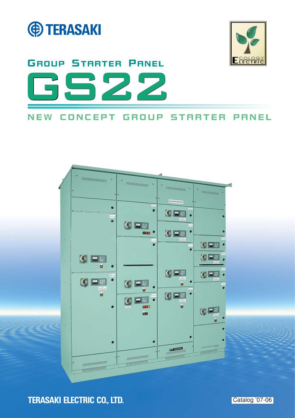 Group Starter Panel Model Gs22 Terasaki Electric Circuit Breaker Electrical 1 11 Pages