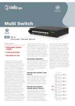Multi Switch Current Range: 16 A