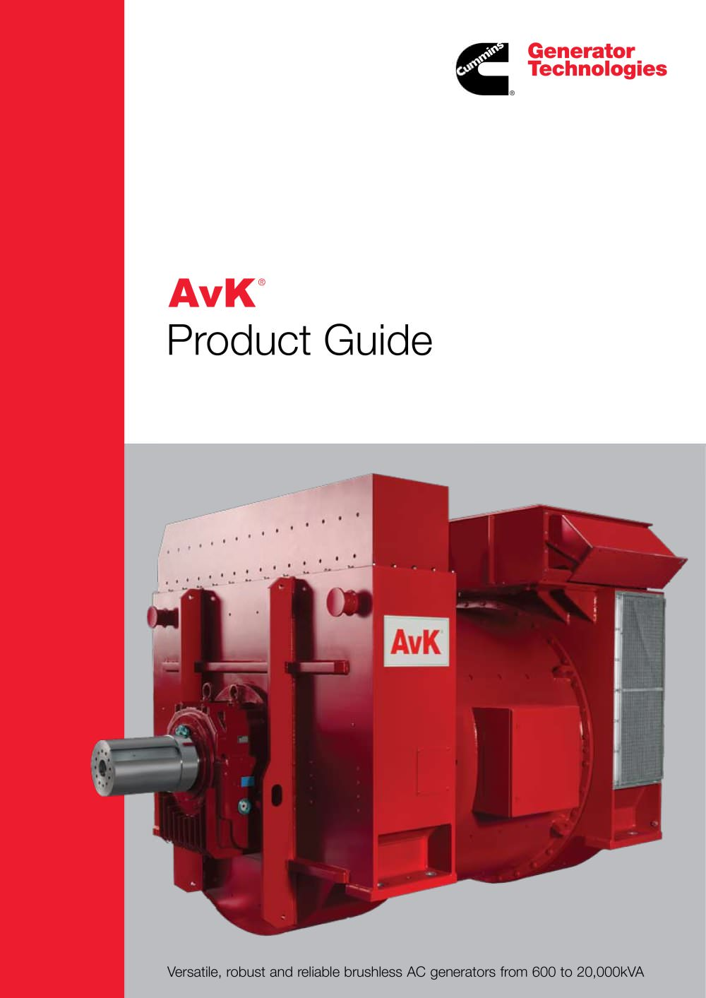 AvK PRODUCT GUIDE - 1 / 12 Pages