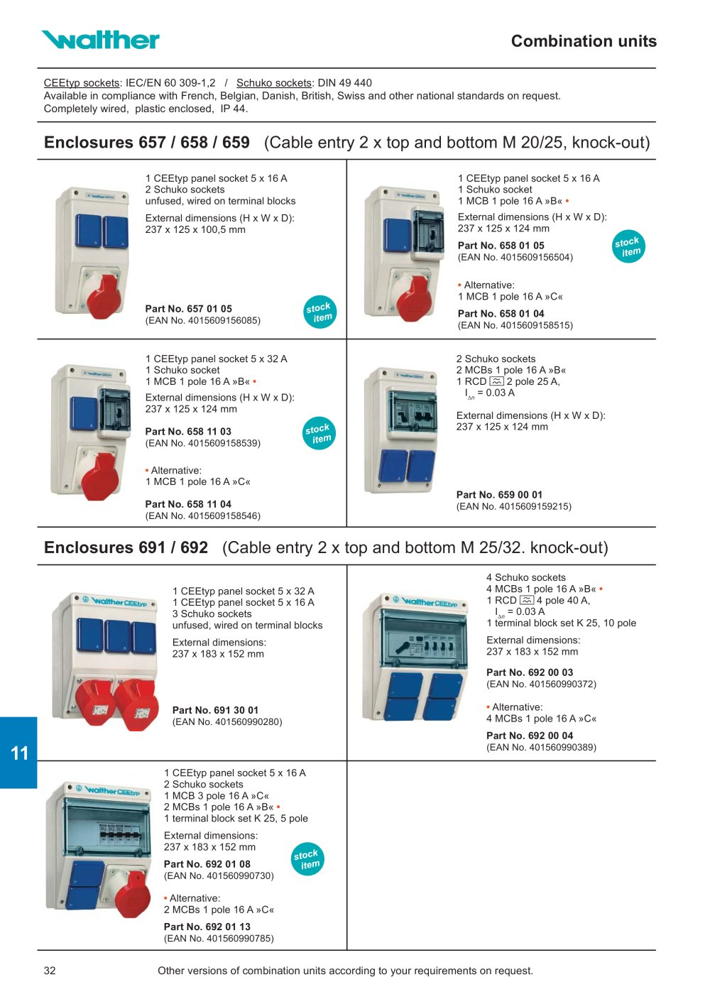 Socket Outlet Combinations Free Standing Units Suspension Type Wiring Parallel Outlets Stainless Steel Distribution Cabinets 1 10 Pages