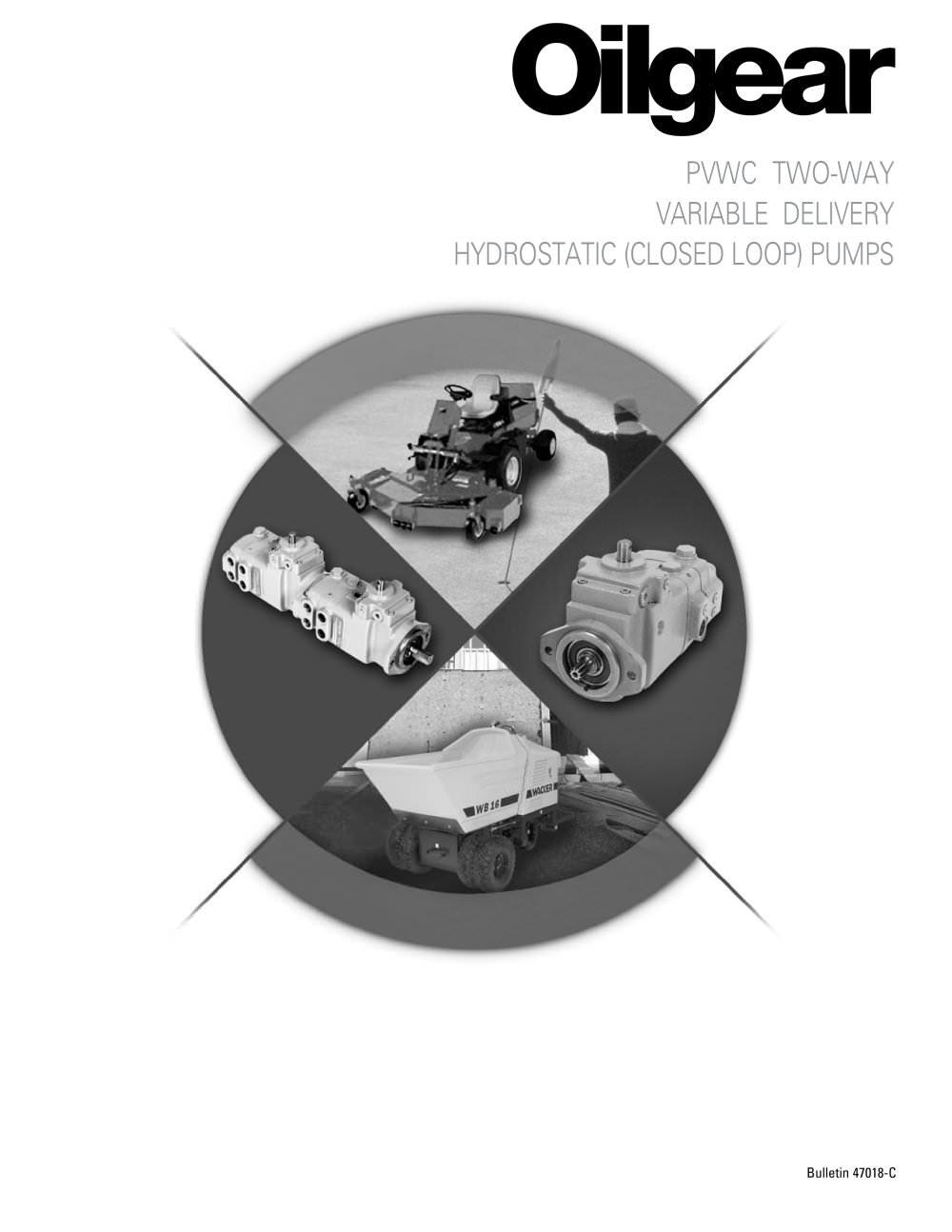 PVWC 011, 014, 022 Pump - Oilgear - PDF Catalogue   Technical ...
