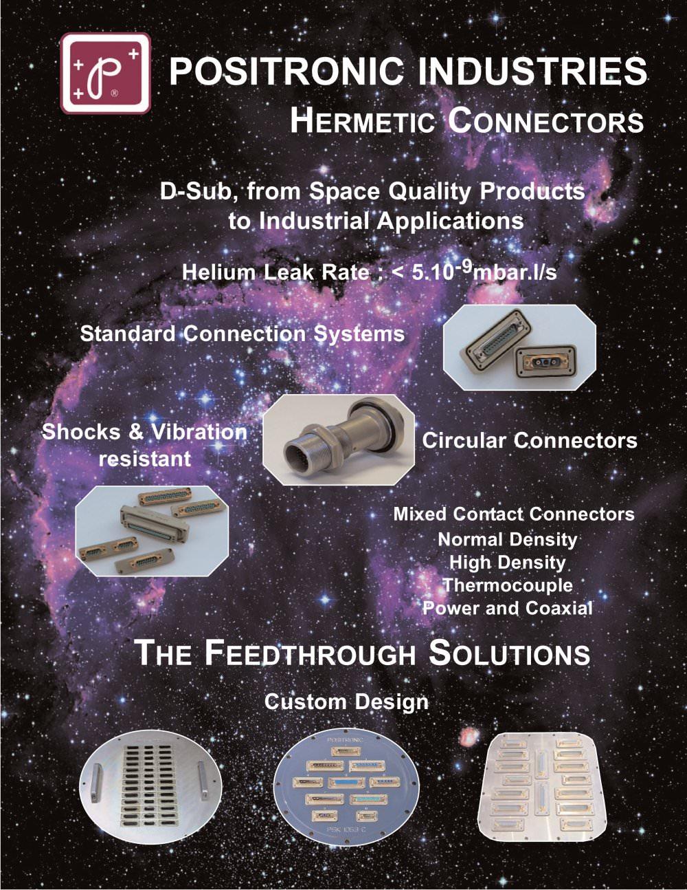 hermetic connector catalog positronic industries pdf catalogue hermetic connector catalog 1 32 pages