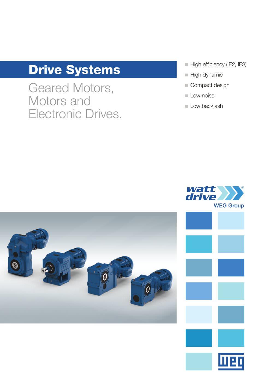 Watt Drive Systems - Watt Drive Antriebstechnik GmbH