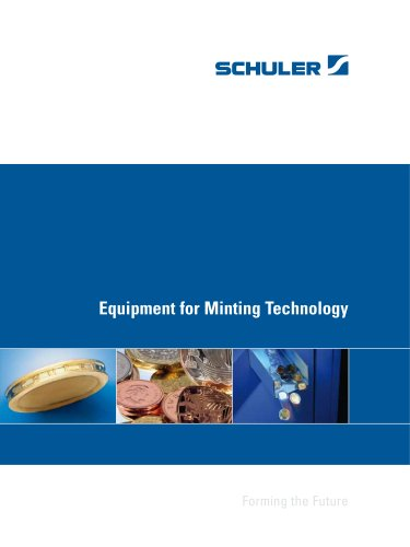 Equipment for Minting Technology - SCHULER - MÜLLER WEINGARTEN - PDF