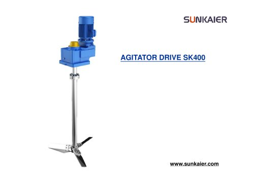 sk400 agitator introduction