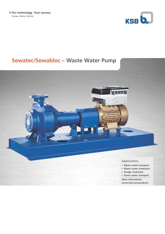 Ksb manual feed pump ksb movitecpumpdrive array sewatec sewabloc ksb s a s france pdf catalogue technical rh pdf directindustry com fandeluxe Gallery