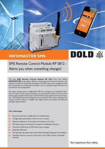 SMS Remote Control Module RP 5812 - DOLD - PDF Catalogs