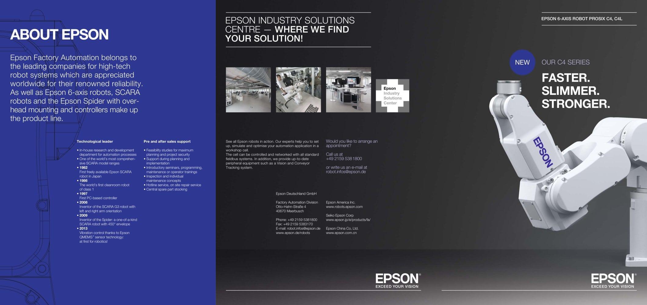 Epson Prosix C4 Epson Robotic Solutions Pdf Catalogs Technical