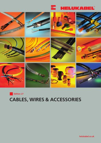 Stupendous Cables Wires Accessories Edition 27 Helukabel Pdf Catalogs Wiring Cloud Oideiuggs Outletorg