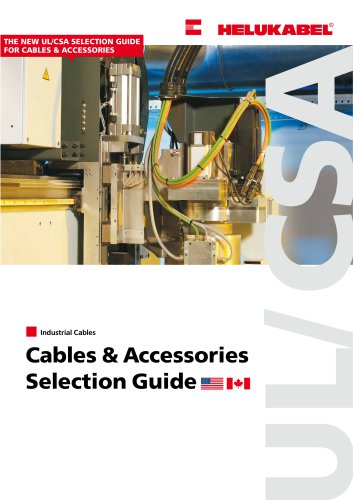 UL-CSA Cables & Accessories Selection Guide - HELUKABEL - PDF