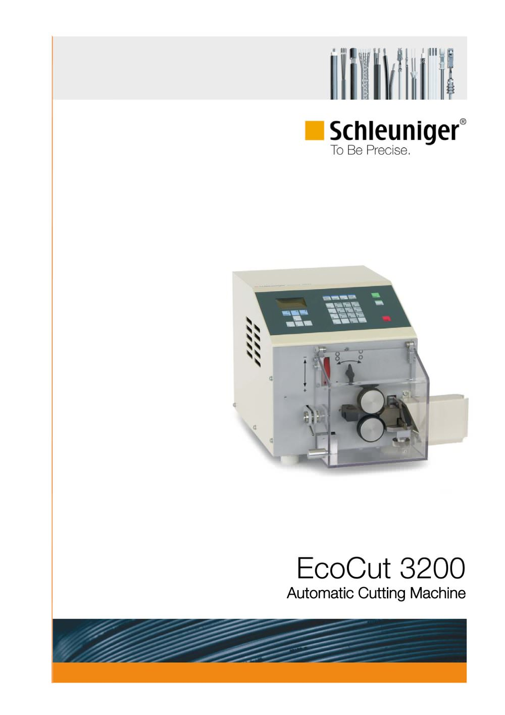 EcoCut 3200 automatic cutting machine (cutter) for wire and tubing ...