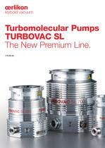 Turbomolecular Pumps TURBOVAC SL
