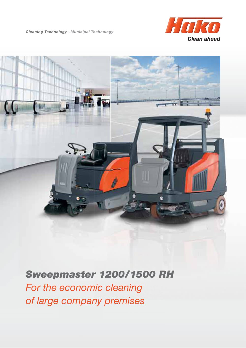 Sweepmaster 1200/1500 RH - 1 / 8 Pages