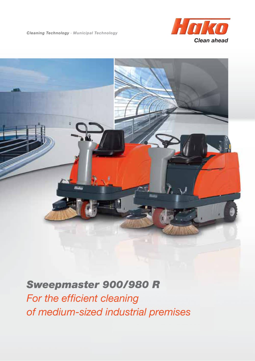 Sweepmaster 900/980 R - 1 / 8 Pages