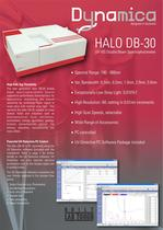 HALO DB-30 UV-VIS Double Beam Spectrophotometer