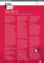 HALO RB-10 UV-VIS Ratio Beam Spectrophotometer