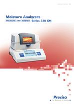 XM Series Moisture Analyzer