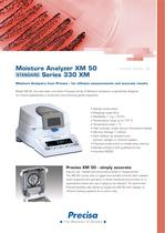XM50 Basic Moisture Analyzer