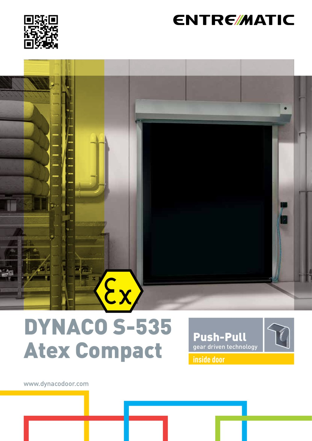 Dynaco S-535 Atex Compact - 4 Pages  sc 1 st  Catalogues Directindustry & Dynaco S-535 Atex Compact - Entrematic - PDF Catalogue | Technical ...