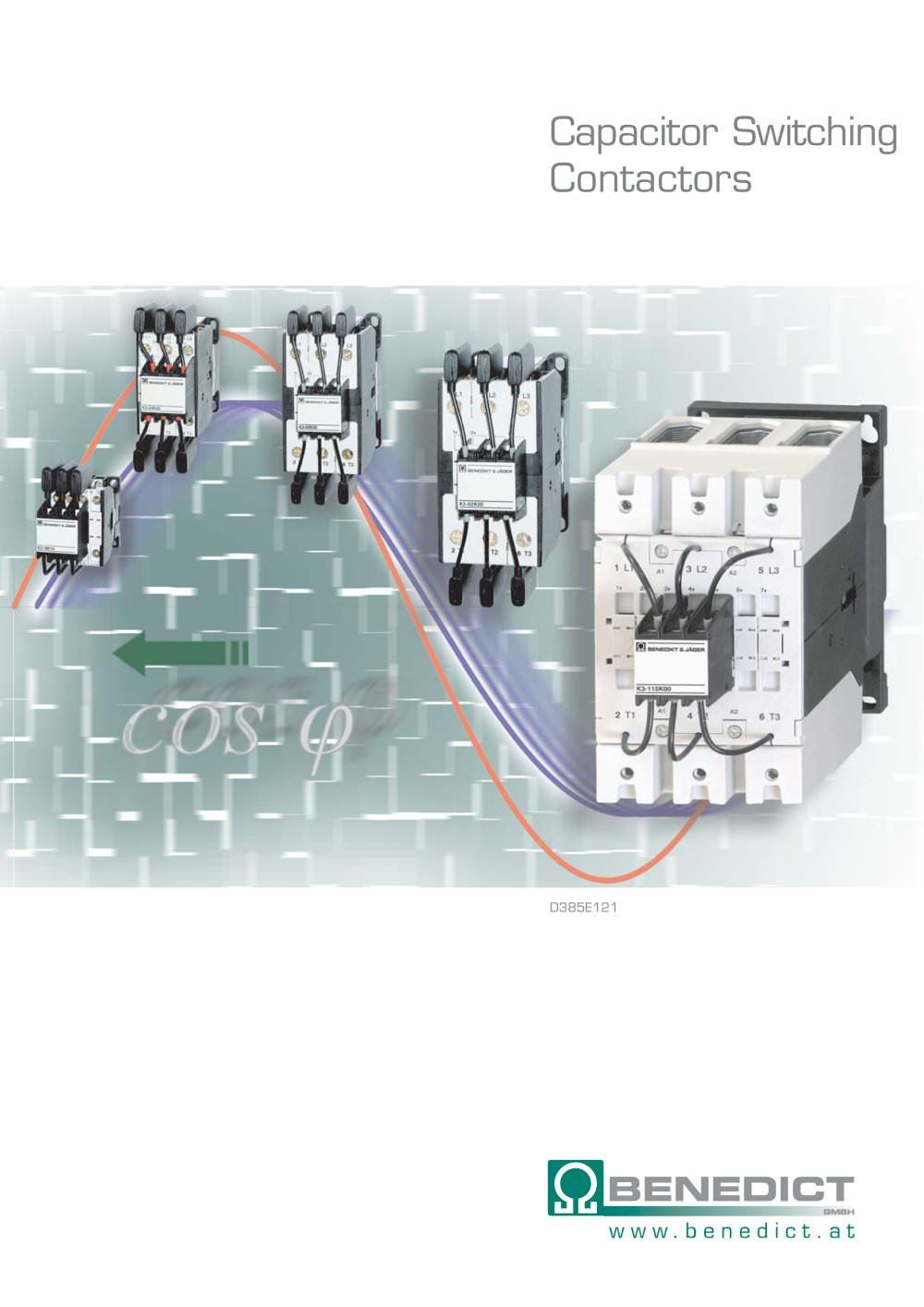 Capacitor Switching Contactors - BENEDIKT & JÄGER - PDF Catalogue ...