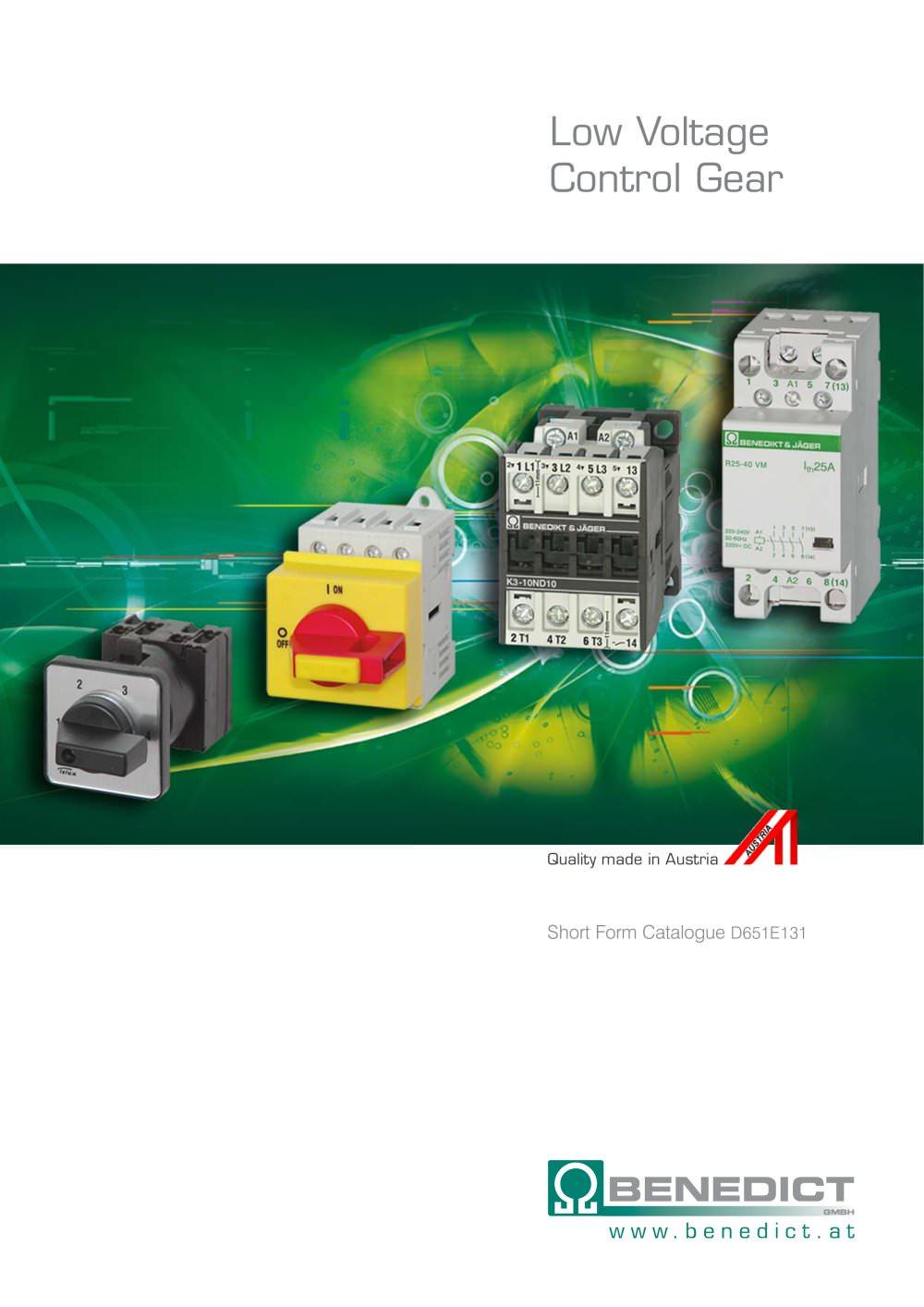 benedict lighting contactors