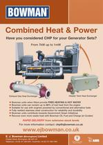 Combined Heat & Power Leaflet