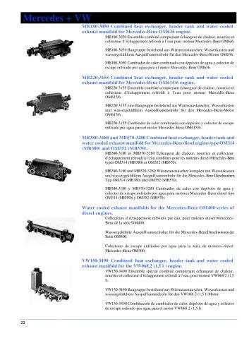 General Bowman catalog (EN, FR, DE, ES)