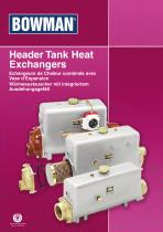 Header Tank Heat Exchangers