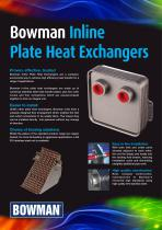 IN LINE PLATE HEAT EXCHANGERS
