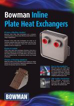 Inline Plate Heat Exchangers