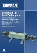 Swimming Pool Heat Exchangers NPT imperial connection