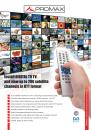 Digital To TV (DTTV) DVB-T TV distribution headend