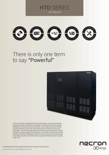HTD series UPS - NECRON Energy TURKEY - PDF Catalogs