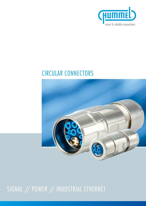 Circular Connectors - HUMMEL - PDF Catalogue | Technical ...