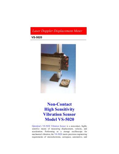 Non-Contact High Sensitivity Vibration Sensor - OPTODYNE