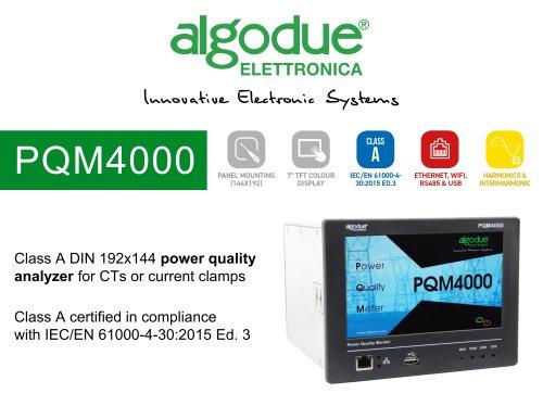 [Presentation] PQM4000 and PQM4000RGW