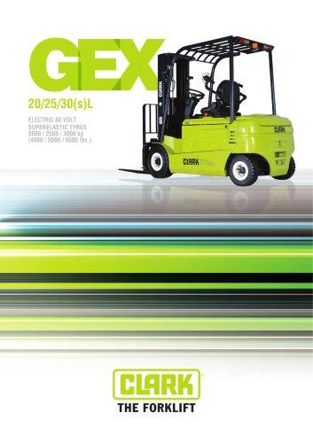 Elektric Forklifts GenEX Series GEX 20/25/30(s)L