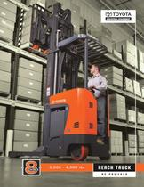 Reach Trucks Single and Double