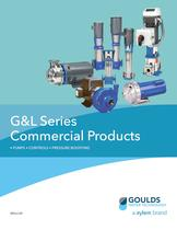 BRGLCAR G&L Series Commercial Products ? PUMPS ? CONTROLS ? PRESSURE BOOSTING