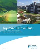 BRSDRIVEP Aquavar S-Drive Plus SIMPLEX VARIABLE SPEED SUBMERSIBLE AND ABOVE GROUND PUMP CONTROLLER