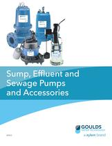 BRSES Sump Effluent and Sewage Pumps and Accessories
